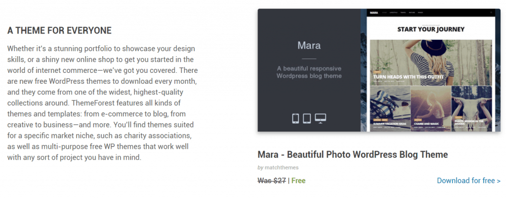 #9 2020_7 月免費WordPress主題下載-Mara/Impose Blog/Vispa for Startups– Themeforest 3 - 麥帶先生